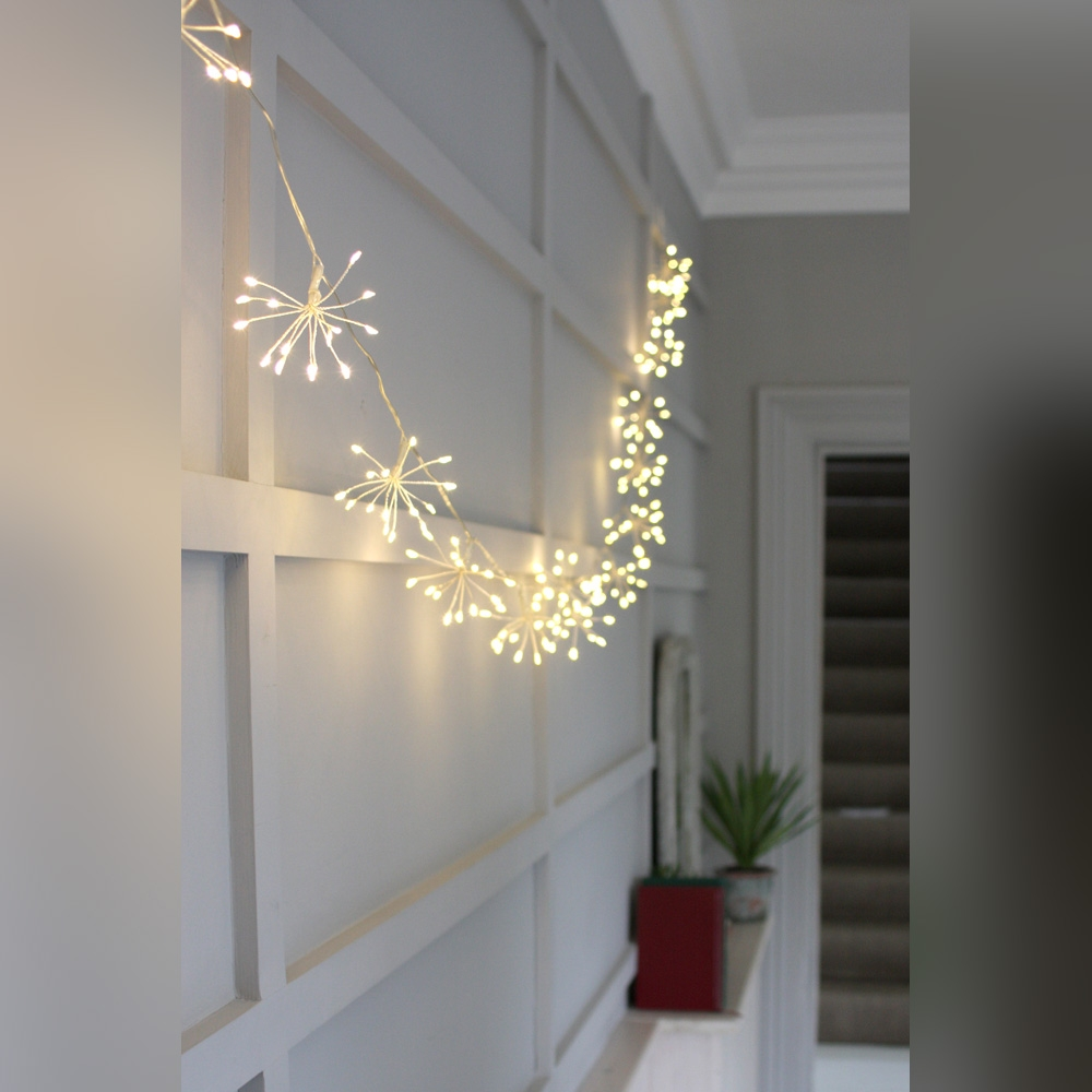 Click to view product details and reviews for Starburst Silver Fairy Lights.