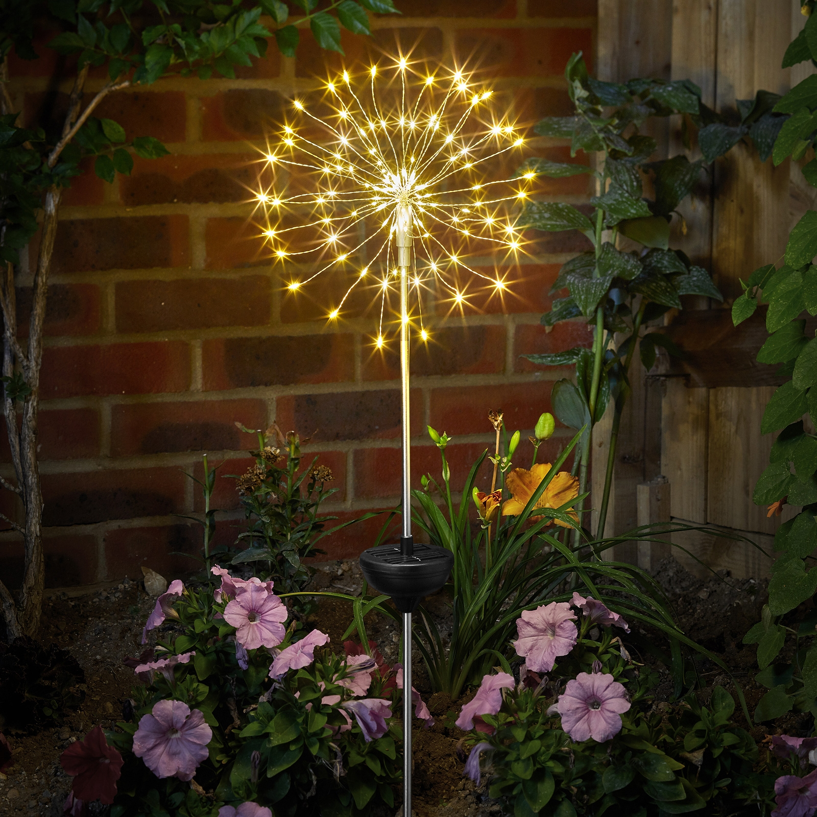 Click to view product details and reviews for Smart Solar Solar Star Burst Stake Light.