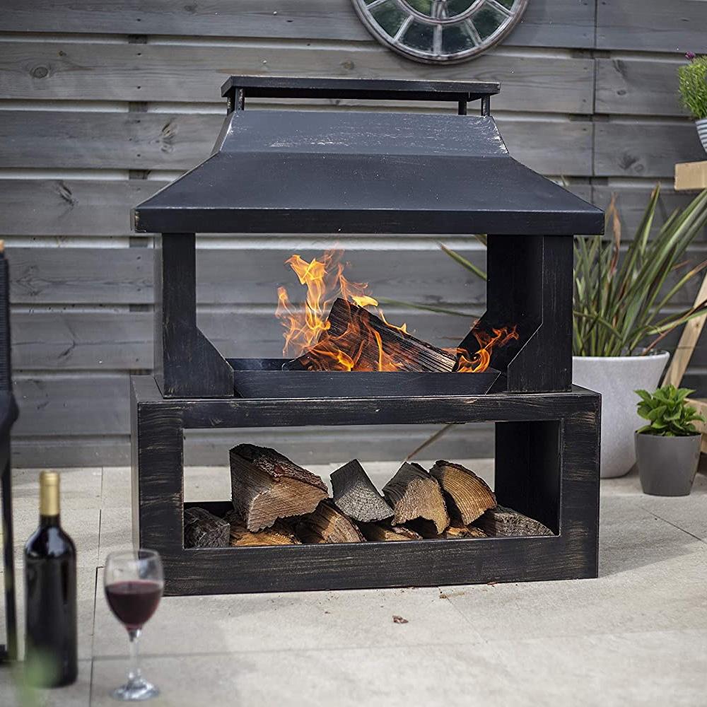 Stonehurst Fireplace Fire Pit