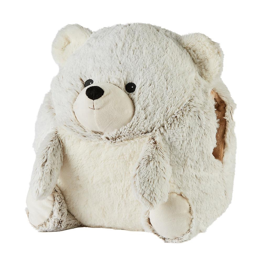 Click to view product details and reviews for Warmies Supersized Hand Warmer Bear.