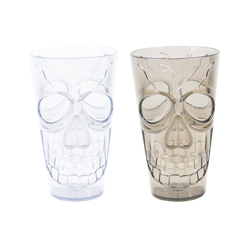 Click to view product details and reviews for Terrifying Skull Tumbler.
