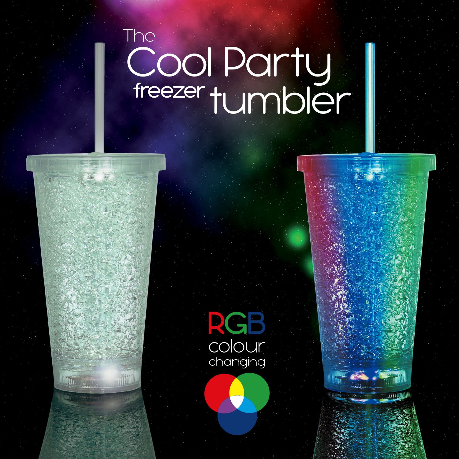 Click to view product details and reviews for Cool Party Freezer Tumbler.