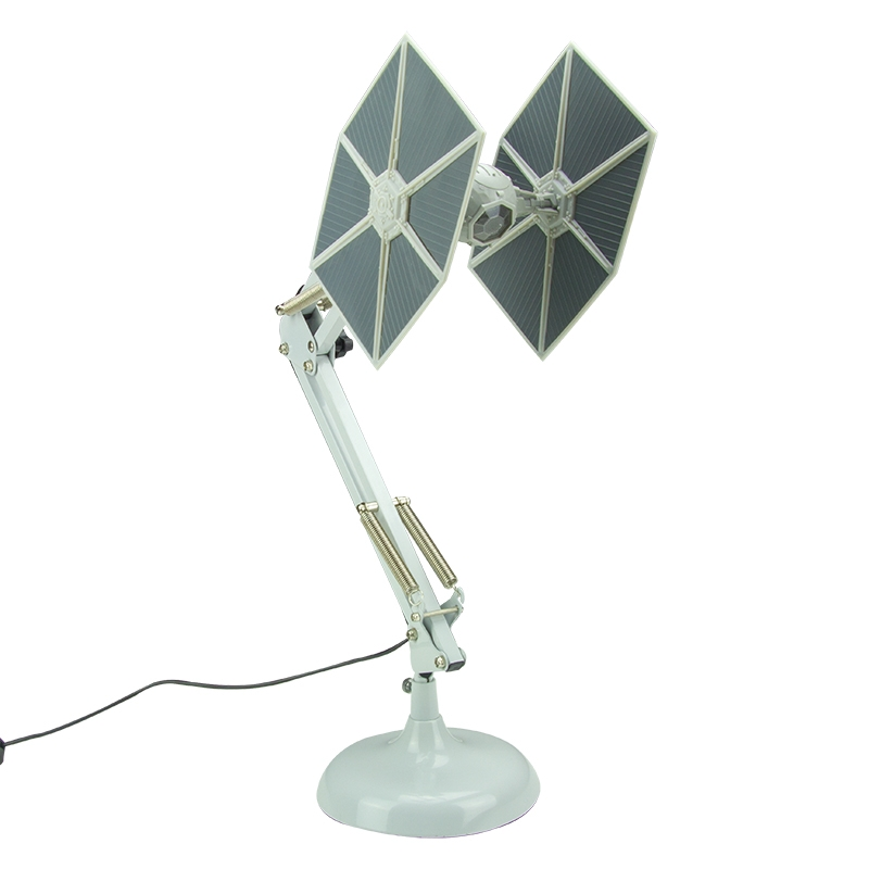 Click to view product details and reviews for Tie Fighter Poseable Desk Lamp.