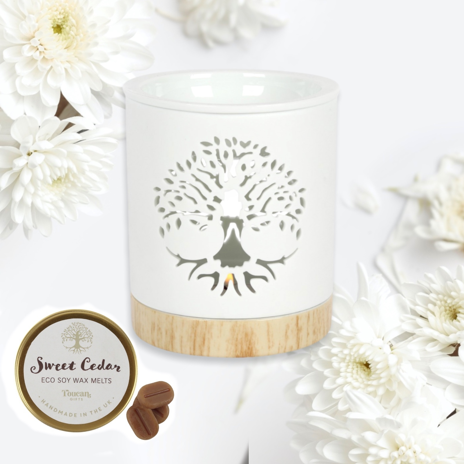 Tree Of Life Wax Warmer Gift Set