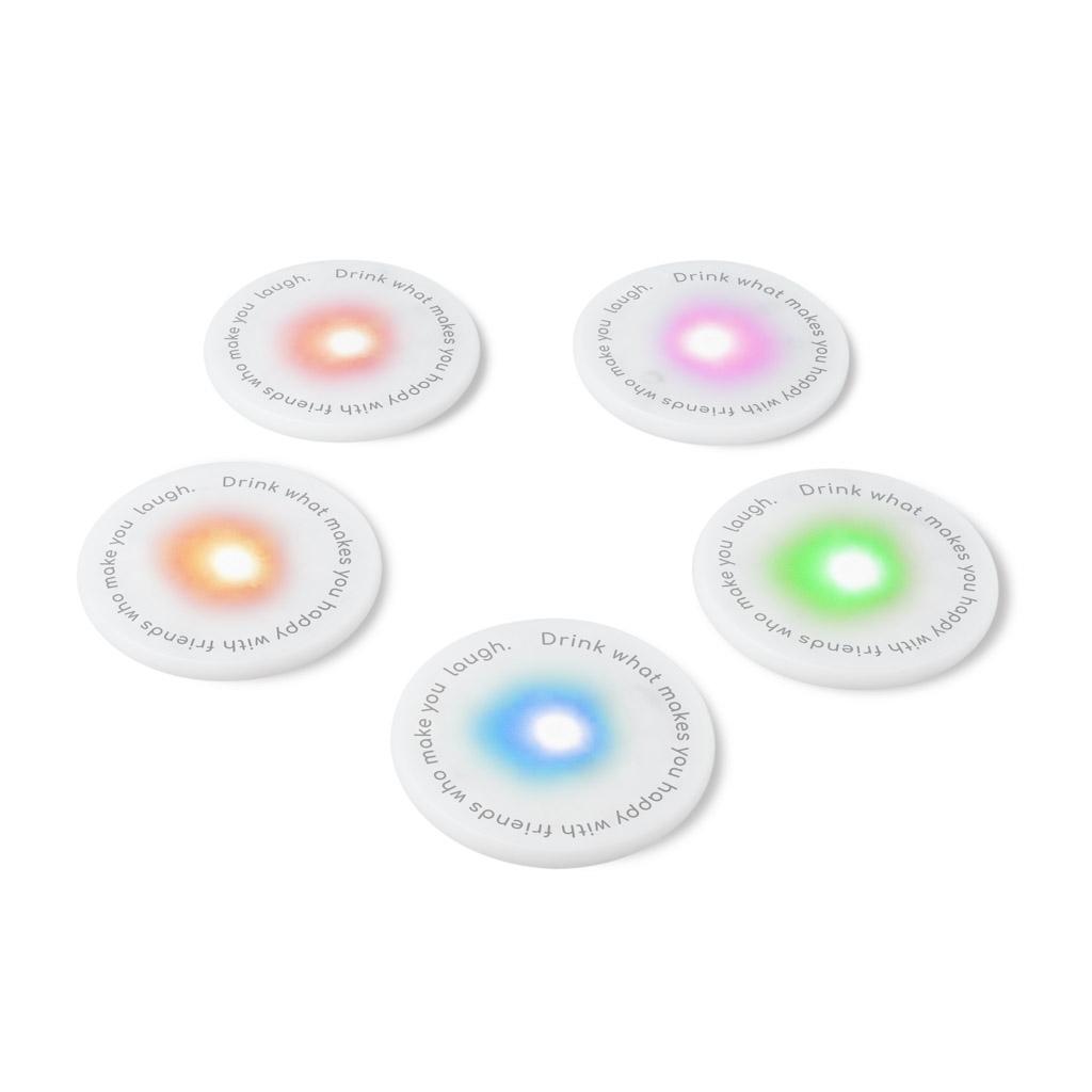 Ufo Led Coasters 5 Pack