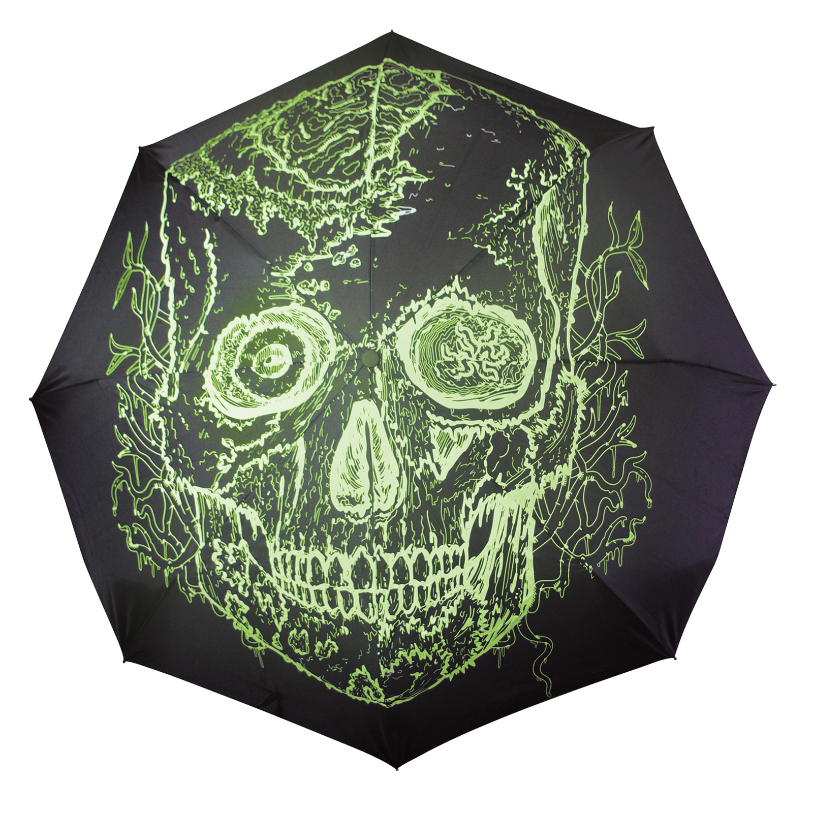 Click to view product details and reviews for Glow Skull Umbrella.