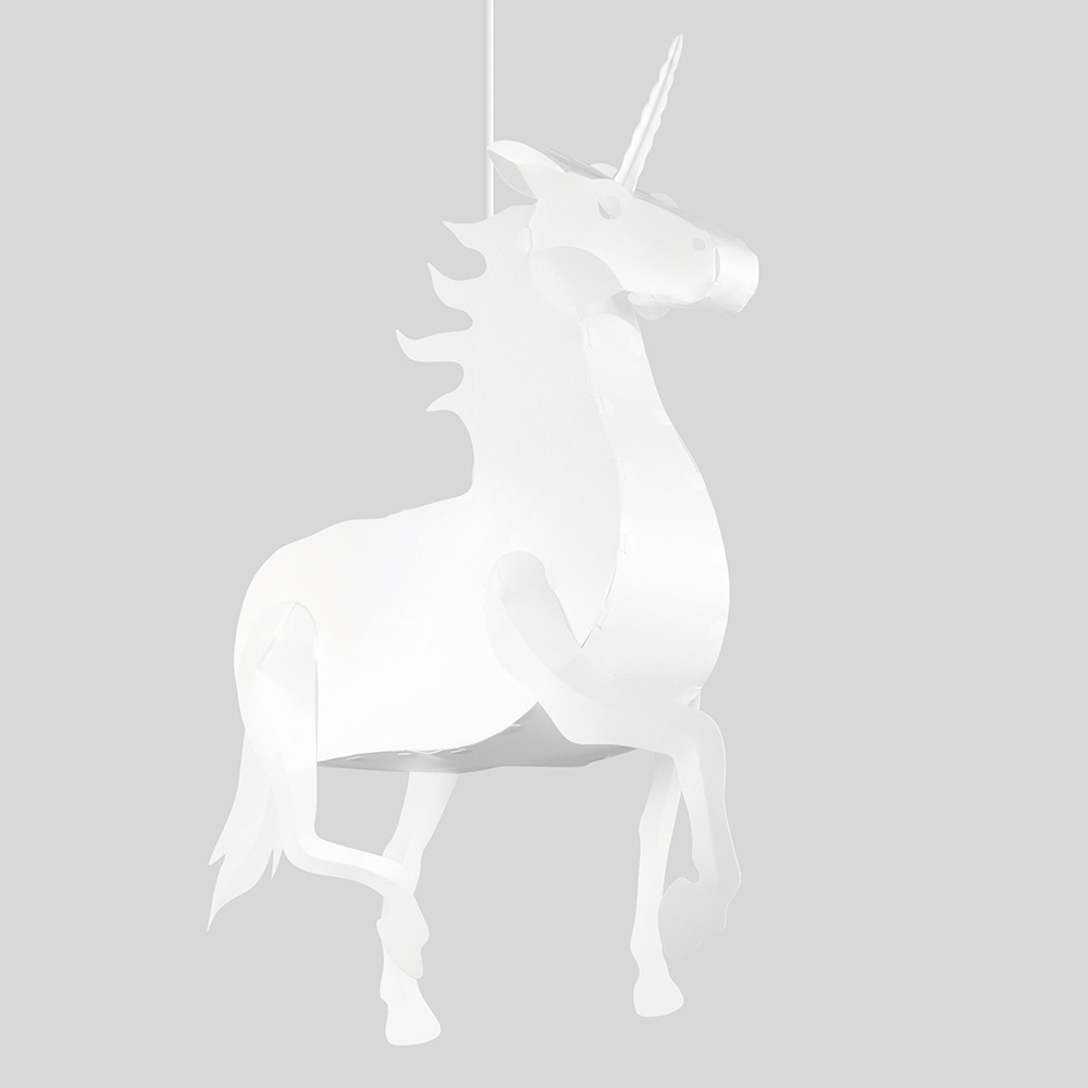 Click to view product details and reviews for Xl Unicorn Pendant Shade.