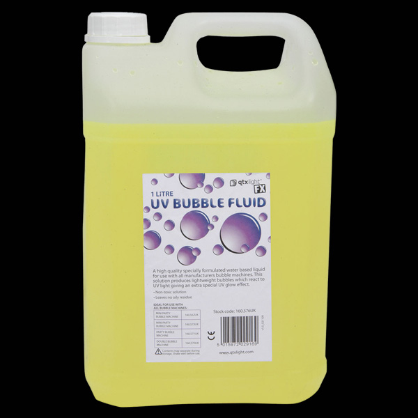 Click to view product details and reviews for Uv Bubble Machine Fluid 5l.