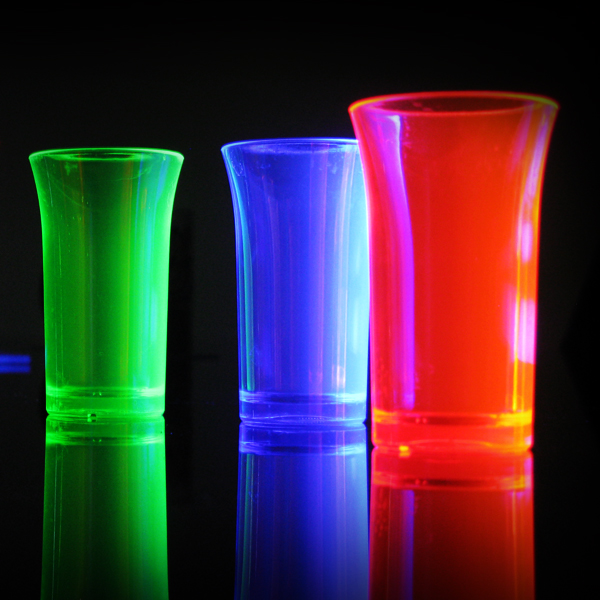Click to view product details and reviews for Uv Reactive Shot Glasses.