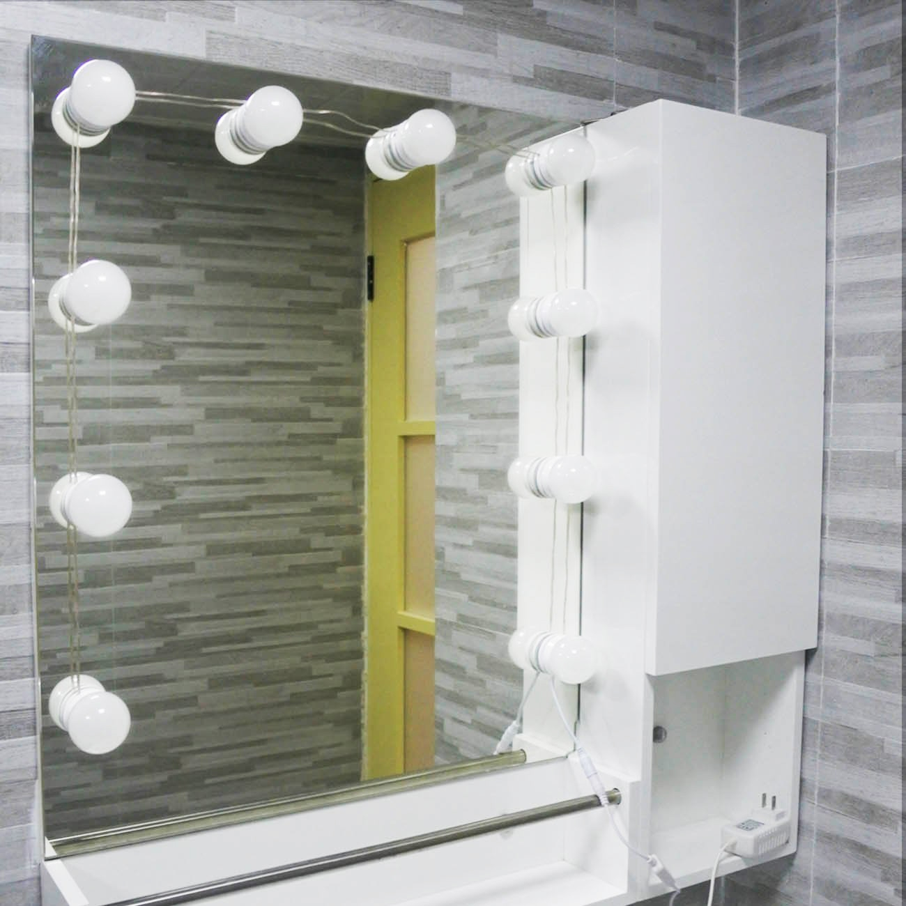 Hollywood Vanity Mirror Lights Kit