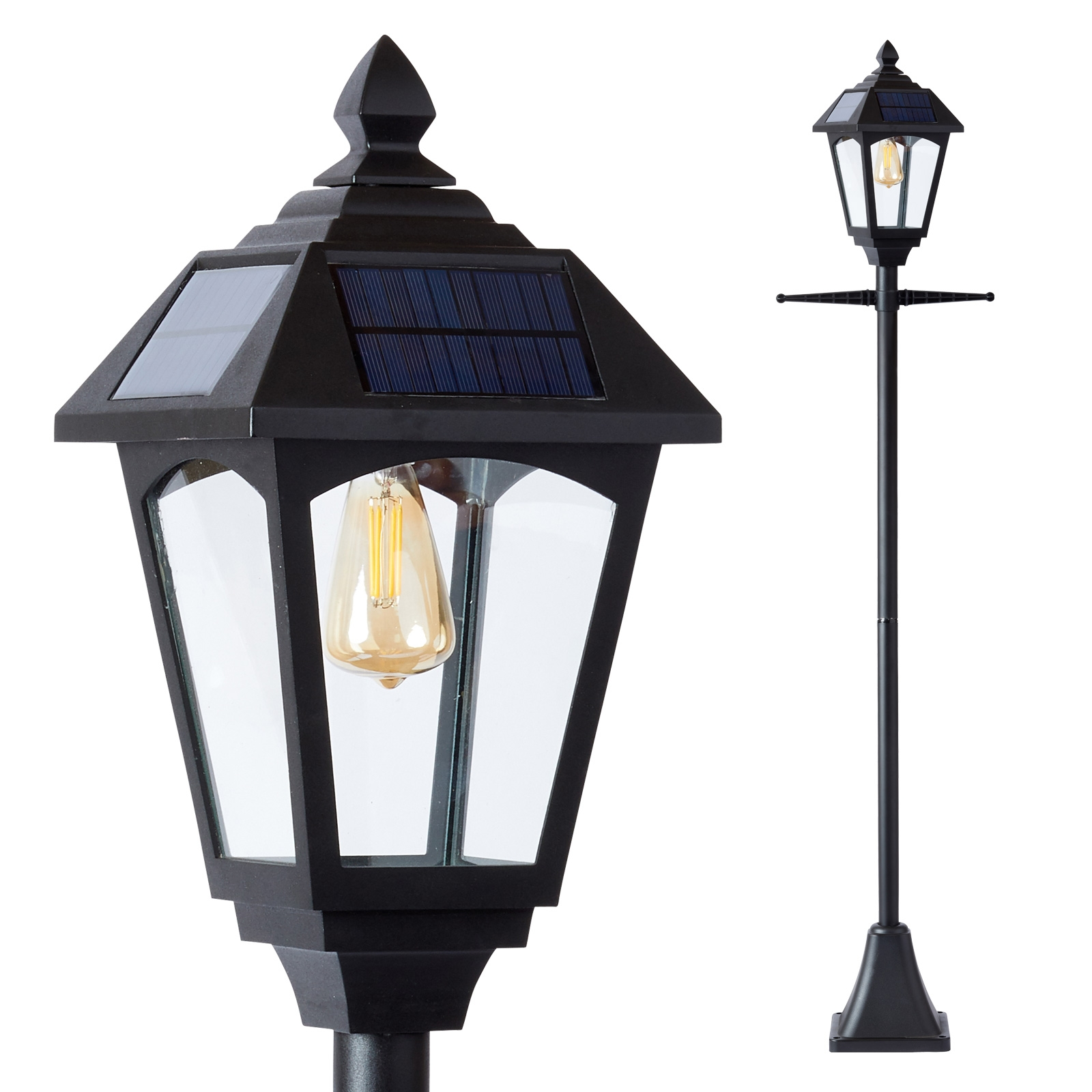 Click to view product details and reviews for Solar Victoriana Lamp Post.