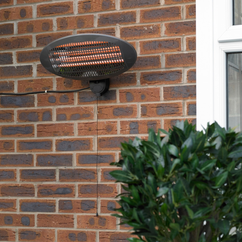 Click to view product details and reviews for Wall Mounted Electric Patio Heater Plug In.