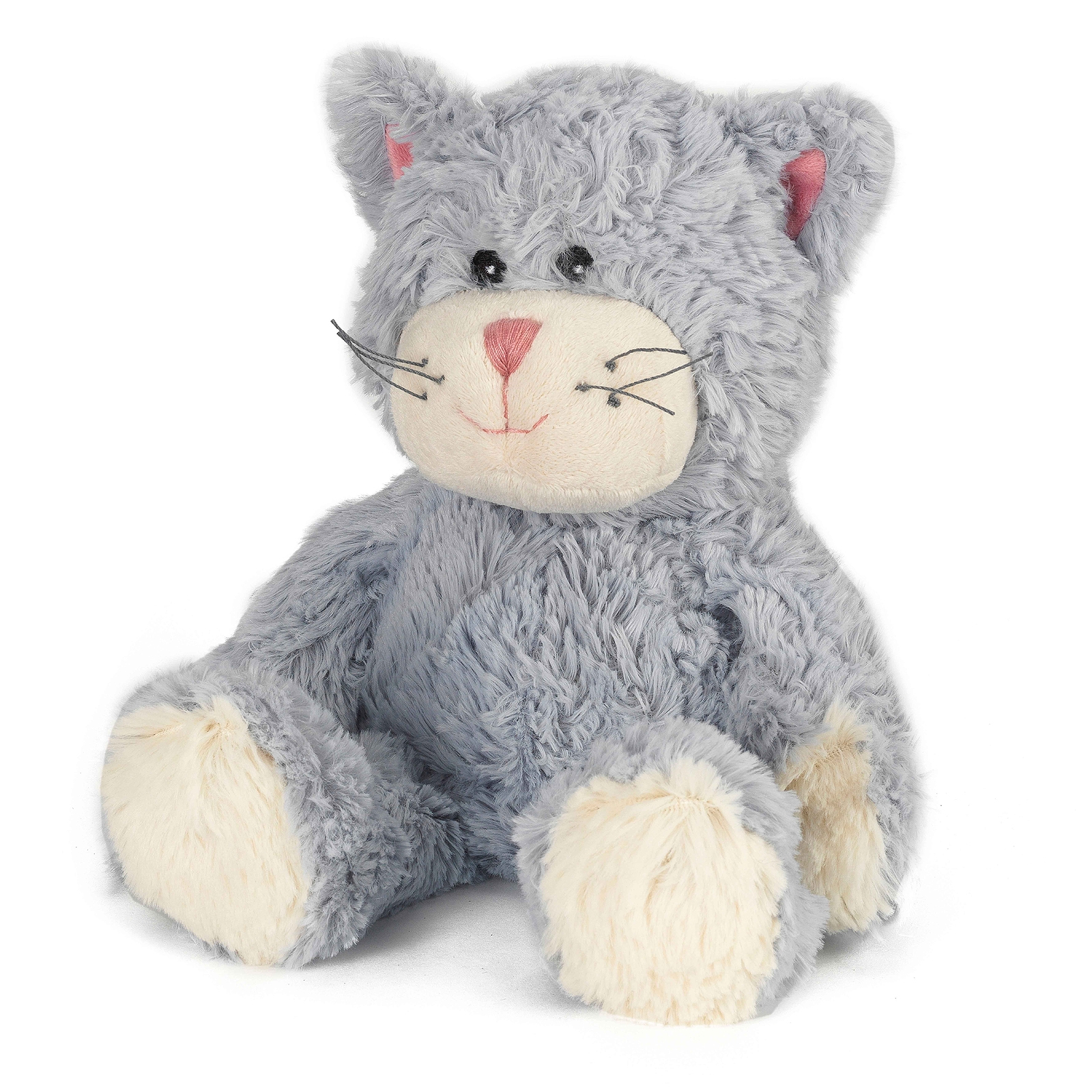 Click to view product details and reviews for Warmies Plush Blue Cat.