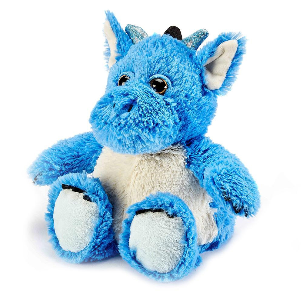 Click to view product details and reviews for Warmies Blue Dragon.