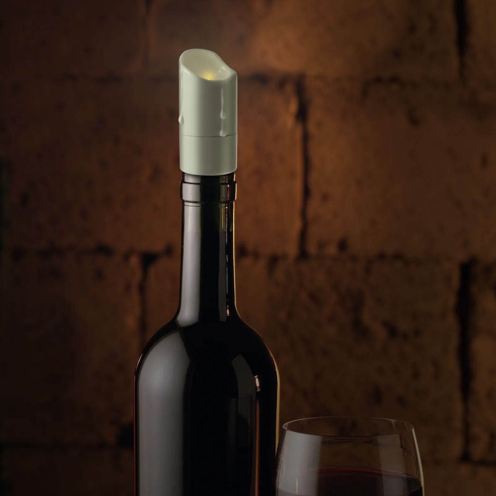 Click to view product details and reviews for Wax And Wine Led Wine Bottle Stopper.