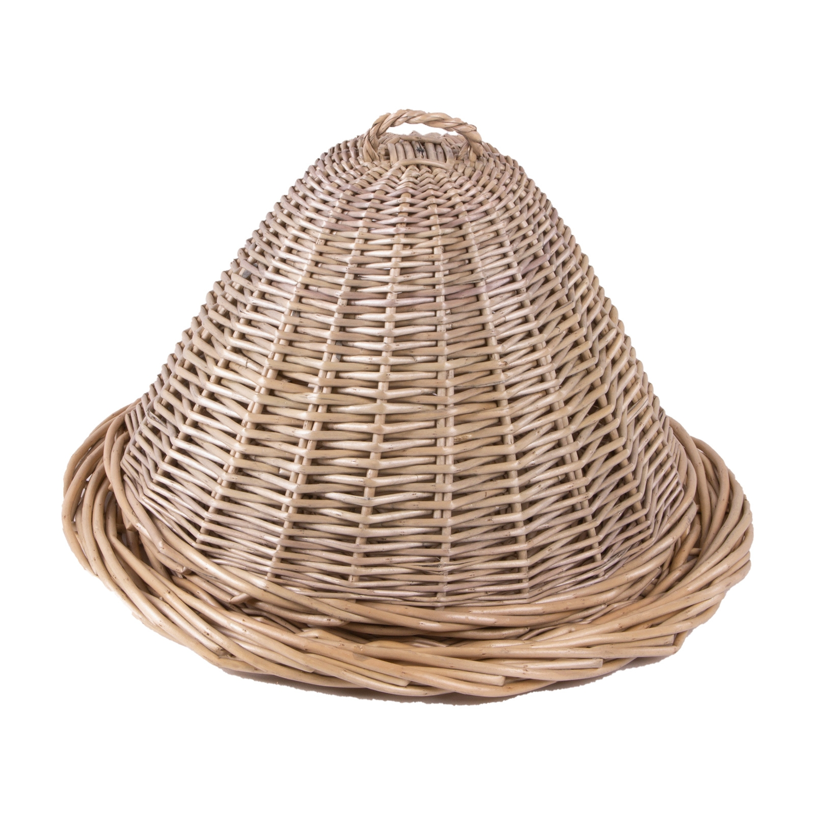 Willow Food Dome And Platter