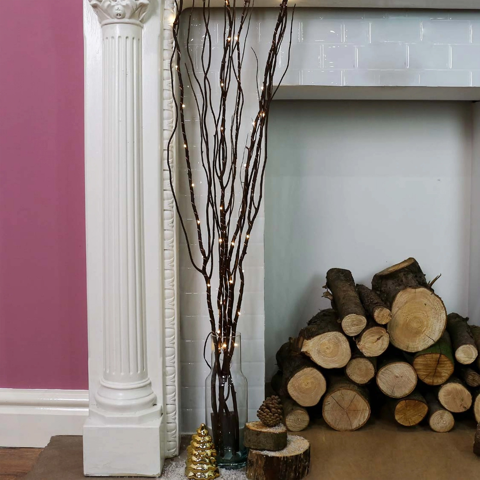 Click to view product details and reviews for Battery Operated Willow Twig Lights.