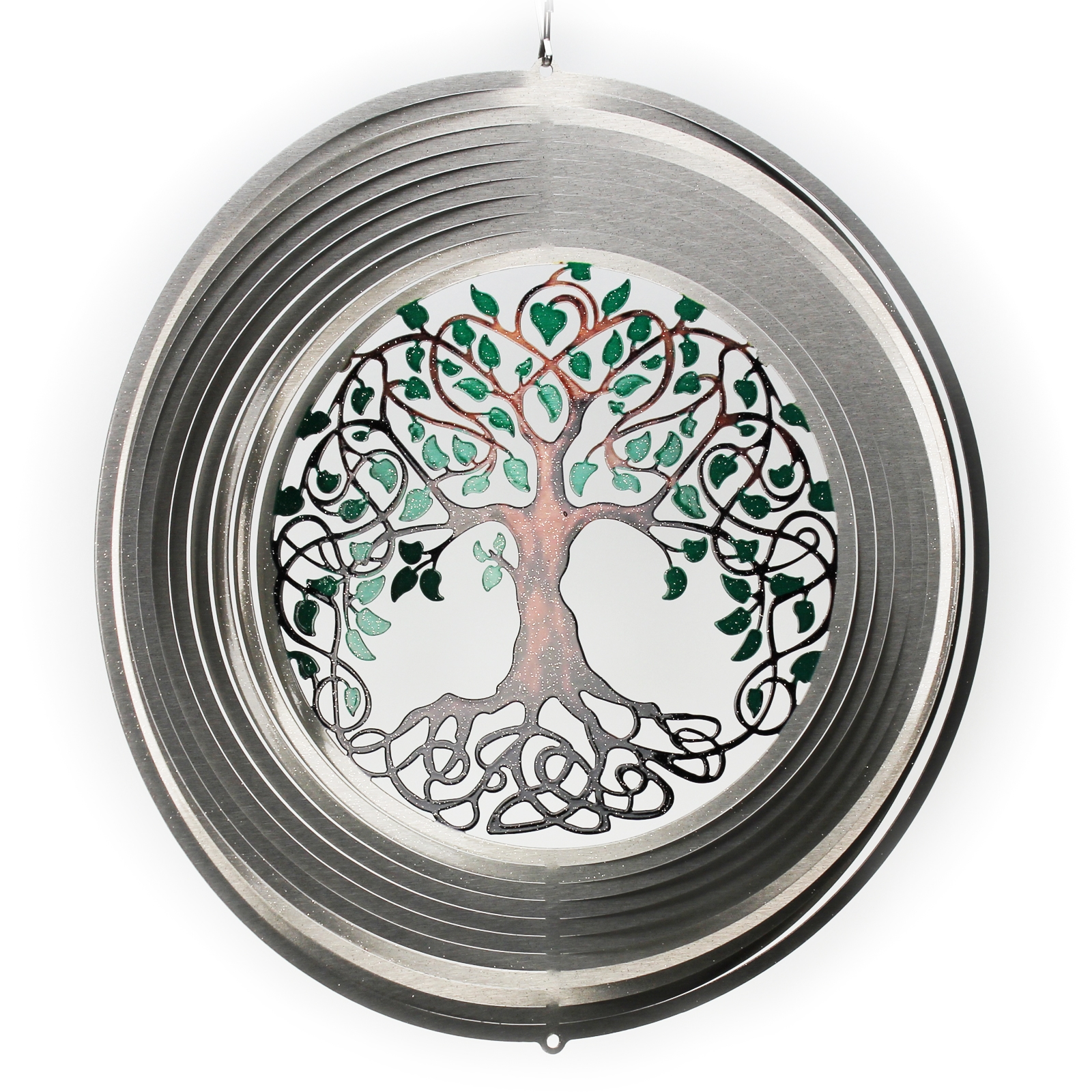 Click to view product details and reviews for Tree Of Life Wind Spinner.