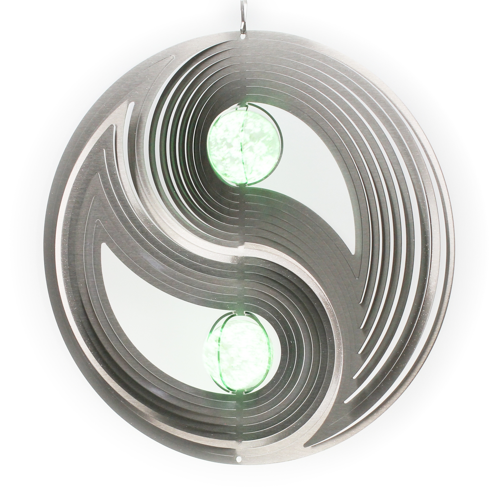 Click to view product details and reviews for Two Ball Yin And Yang Glow Ball Wind Spinner.
