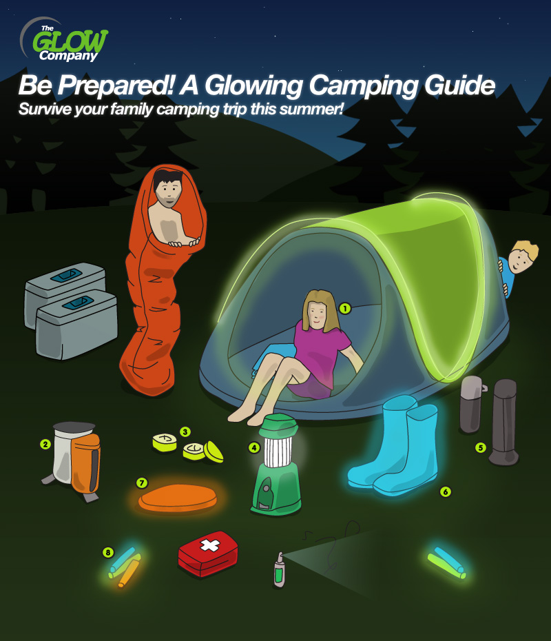 A Glowing Camping Guide