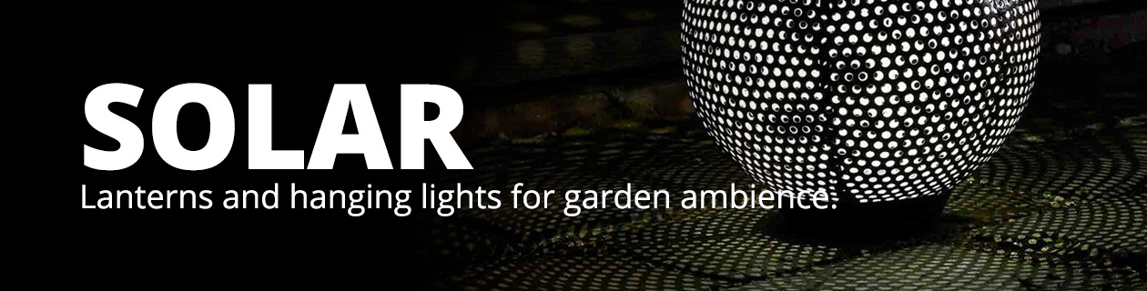 Solar Lanterns & Hanging Lights